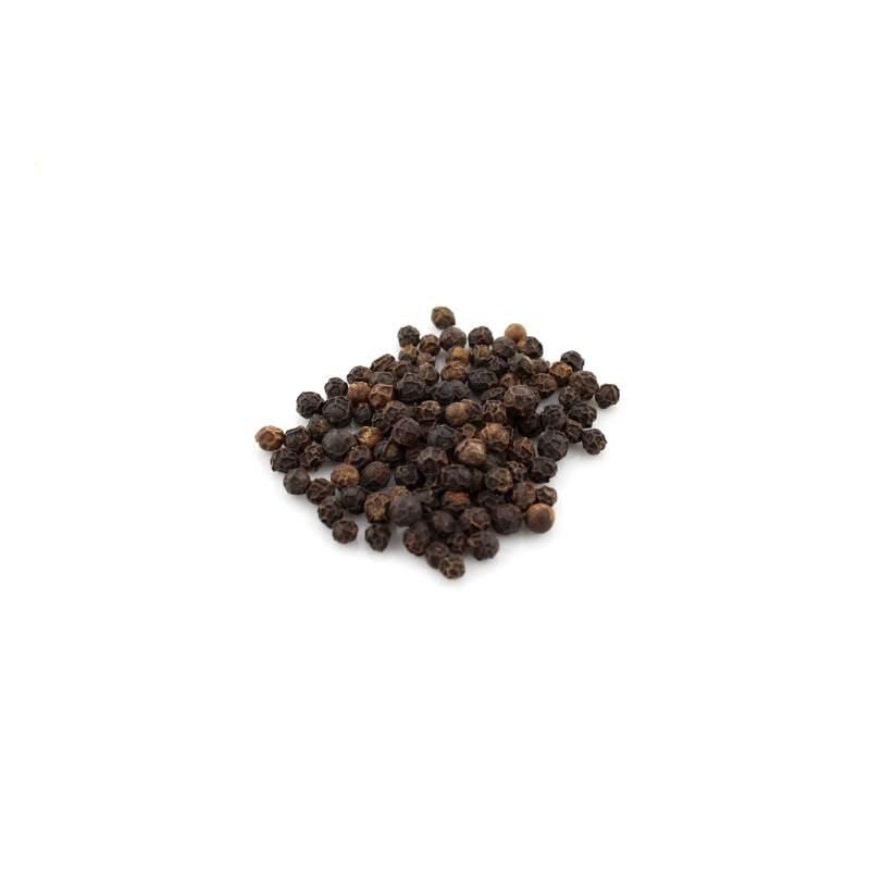 Black Pearl - Pfeffer schwarz ganz - Piper nigrum 90 g im Aromabeutel