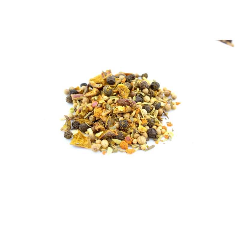Yellow Mallow Gewürzmischung  im Aromabeutel 70g